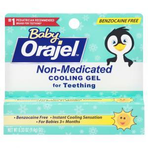 Orajel Baby Non-Medicated Daytime Cooling Gel