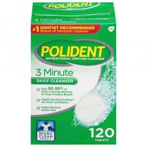 Polident 3-Minute Denture Tablets