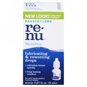 Bausch + Lomb MultiPlus Lubricant + Rewetting Drops