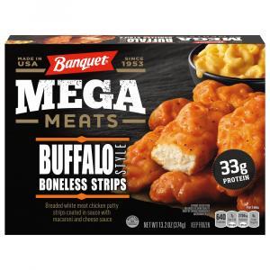 Banquet Mega Meats Buffalo Style Boneless Chicken Strips