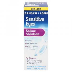 Bausch + Lomb Sensitive Eyes Plus Saline Solution