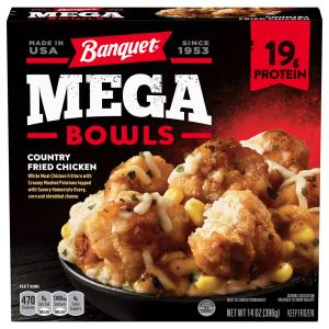 Banquet Mega Bowl Country Fried Chicken