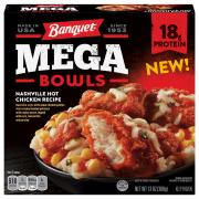 Banquet Mega Bowls Nashville Style Hot Fried Chicken