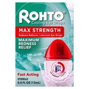 Rohto Cooling Eye Drop Maximum Redness Relief