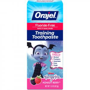 Orajel Vampirina Fluoride Free Training Toothpaste
