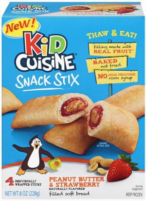 Kid Cuisine Snack Stix Peanut Butter & Strawberry Jelly