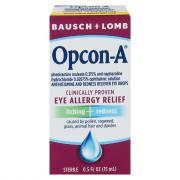 Bausch + Lomb Opcon-A Eye Drops