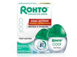 Rohto Beauty Secret Redness Reliever, Lubricant Eye Drops