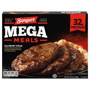 Banquet Mega Meals Salisbury Steak