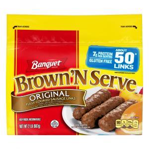 Banquet Value Pack Brown 'N Serve Original Sausage Links