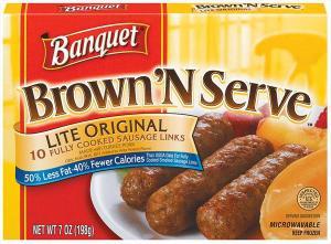 Banquet Brown 'n Serve Lite Original Sausage Links