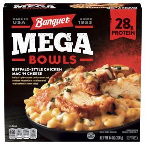 Banquet Mega Bowls Buffalo Style Chicken Mac 'N Cheese