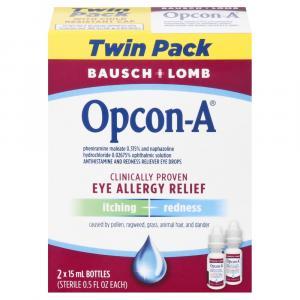 Bausch & Lomb Opcon A Eye Allergy Relief