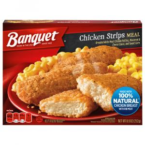 Banquet Classic Chicken Strips Meal