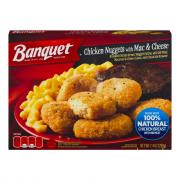 Banquet Chicken Nuggets With Macaroni & Cheese