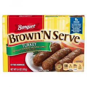 Banquet Brown 'N Serve Turkey Links