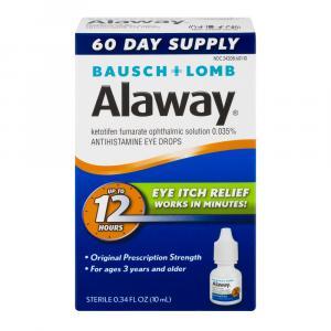 Bausch + Lomb Alaway Eye Itch Relief