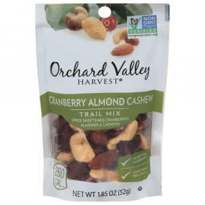 Orchard Valley Harvest Cranberry Almond and Cashew Trail Mix