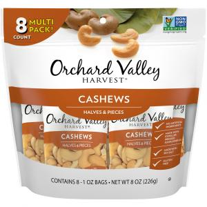 Orchard Valley Harvest Cashew Halves & Pieces with Sea Salt
