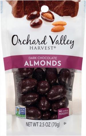 Orchard Valley Dark Chocolate Almonds