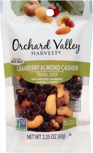 Orchard Valley Cranberry Almond Cashews