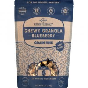 Within/Without Blueberry Chewy Granola