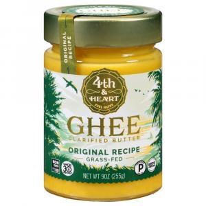 4th & Heart Ghee Clarified Butter Original Grass Fed