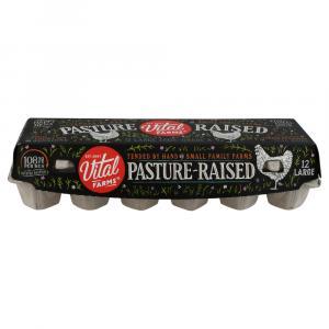 Vital Farms Pasture Raised Large Brown Eggs