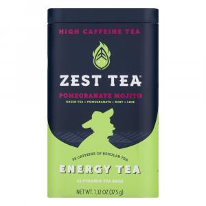 Zest Tea Pomegranate Mojito