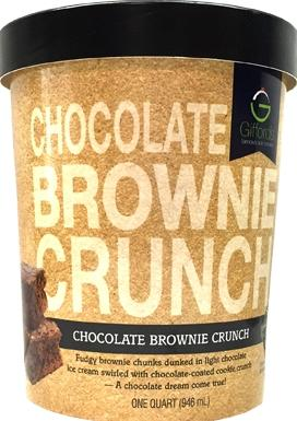 Gifford's Chocolate Brownie Crunch Ice Cream
