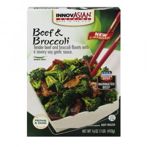 InnovAsian Beef & Broccoli