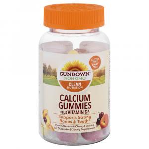 Sundown Naturals Calcium With Vitamin D3 Gummies