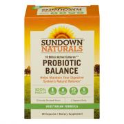 Sundown Naturals Probiotic Balance Capsules