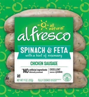 Al Fresco Spinach Chicken Sausage