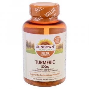Sundown Naturals Turmeric 500mg