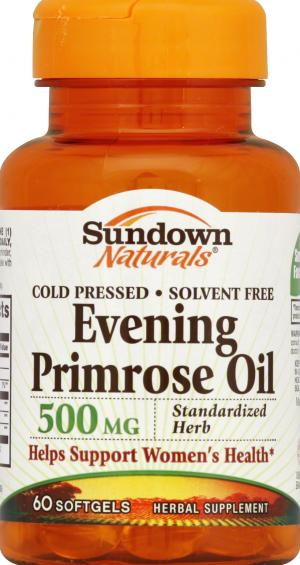 Sundown Evening Primrose Oil
