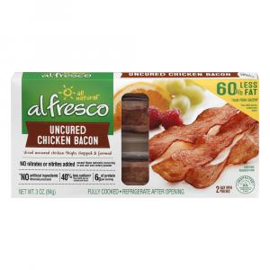Al Fresco Uncured Original Chicken Bacon