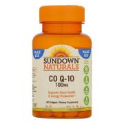 Sundown Naturals CO Q-10 100 mg Softgels