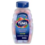 Tums E-X Assorted Berries Chewable Antacid Tablets
