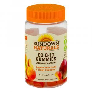Sundown Naturals Co Q-10 200 MG Gummies