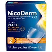 Nicoderm CQ Clear Patch Step 2 14mg