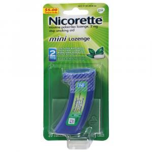 Nicorette Mini Lozenges Mint 2mg