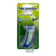 Nicorette Mini Lozenges Mint 2mg