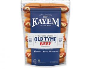 Kayem Natural Casing Beef Franks
