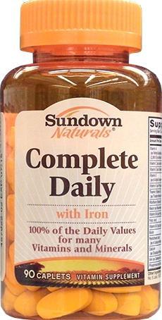 Sundown Complete Daily Caplets