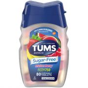 Tums Antacid Sugar Free Melon Berry Extra Strength 750