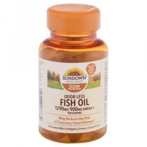 Sundown Naturals Fish Oil 1290 MG Softgels