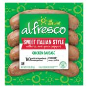 Al Fresco Sweet Italian Chicken Sausage