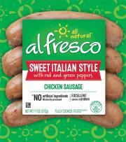 Al Fresco Sweet Italian Chicken Sausage
