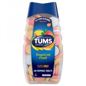 Tums Ultra Strength 1000 Tropical Fruit Antacid